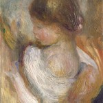 Jeune fille lisant (c 1888)