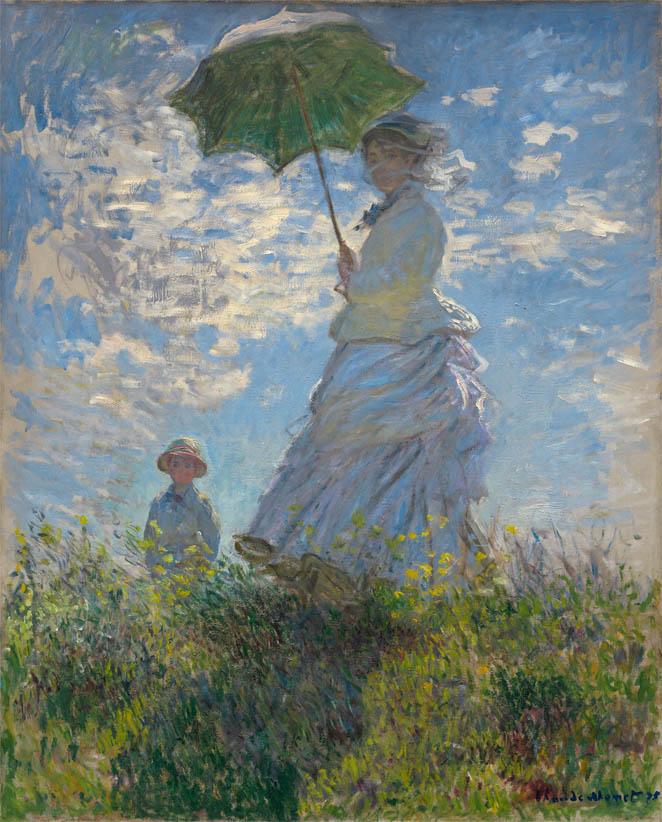 La Promenade ou La Femme à l'ombrelle (1875)
