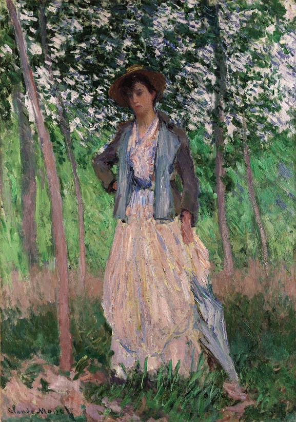 La Promeneuse (1887)