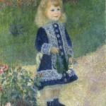 La petite fille à l'arrosoir (1876)