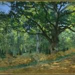 Le chêne Bodmer de la forêt de Fontainebleau (1865)