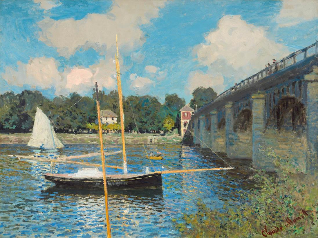 Le pont à Argenteuil (1874)