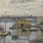 Le pont à Argenteuil un jour gris (c 1876)