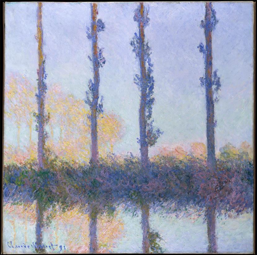 Les quatre arbres (1891)