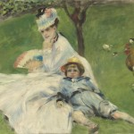Madame Monet et son fils Jean (1874)