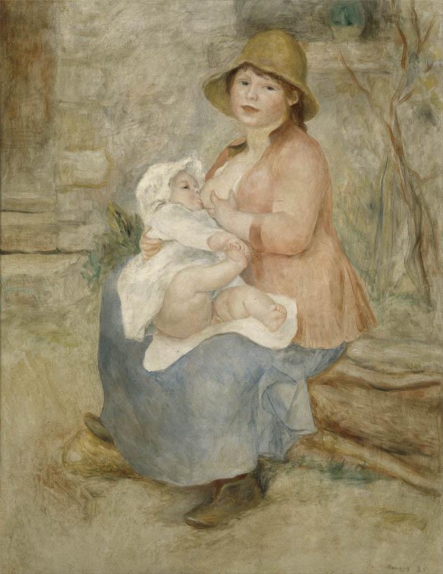 Maternité, L'enfant au sein (1885)