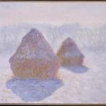 Meules de foin, effet de neige et de soleil (1891)