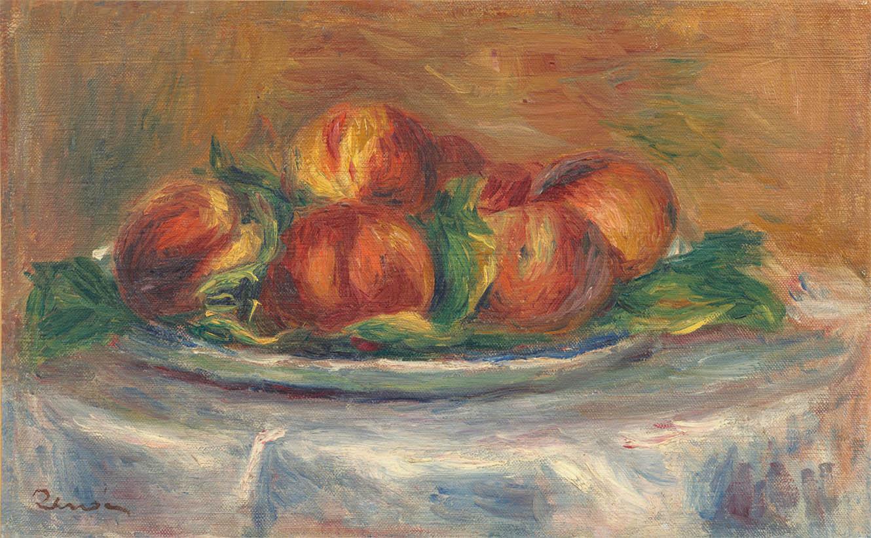 Pèches sur un plateau (1902-1905)