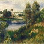 Paysage à Vétheuil (c 1890)