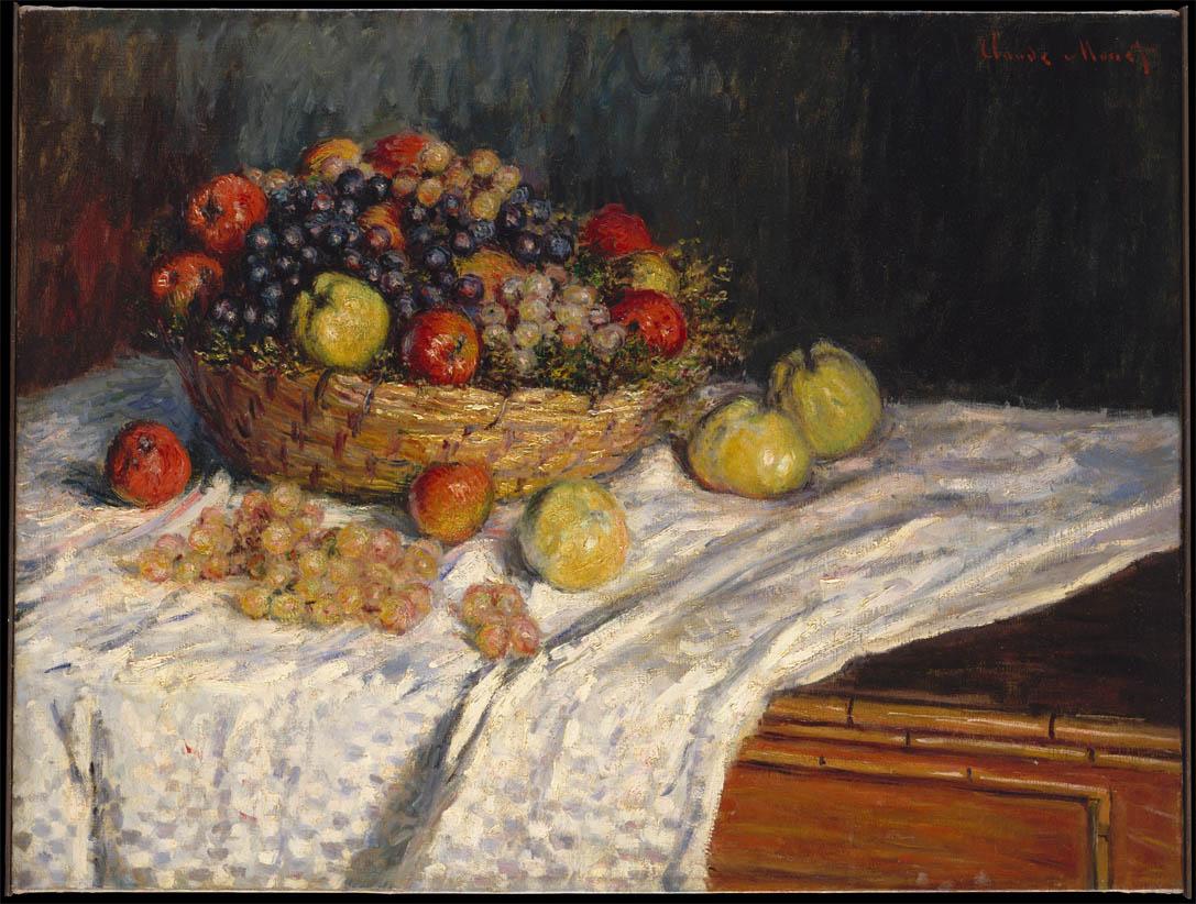 Pommes et raisins (1879-1880)