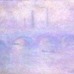 Pont de Waterloo, effet de brouillard (1903)
