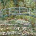 Pont sur un étang de nymphéas (1899)
