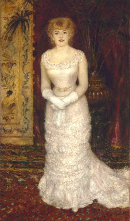 Portrait de Jeanne Samary en pied (1878)