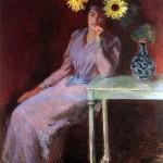 Portrait de Suzanne aux soleils (1890)