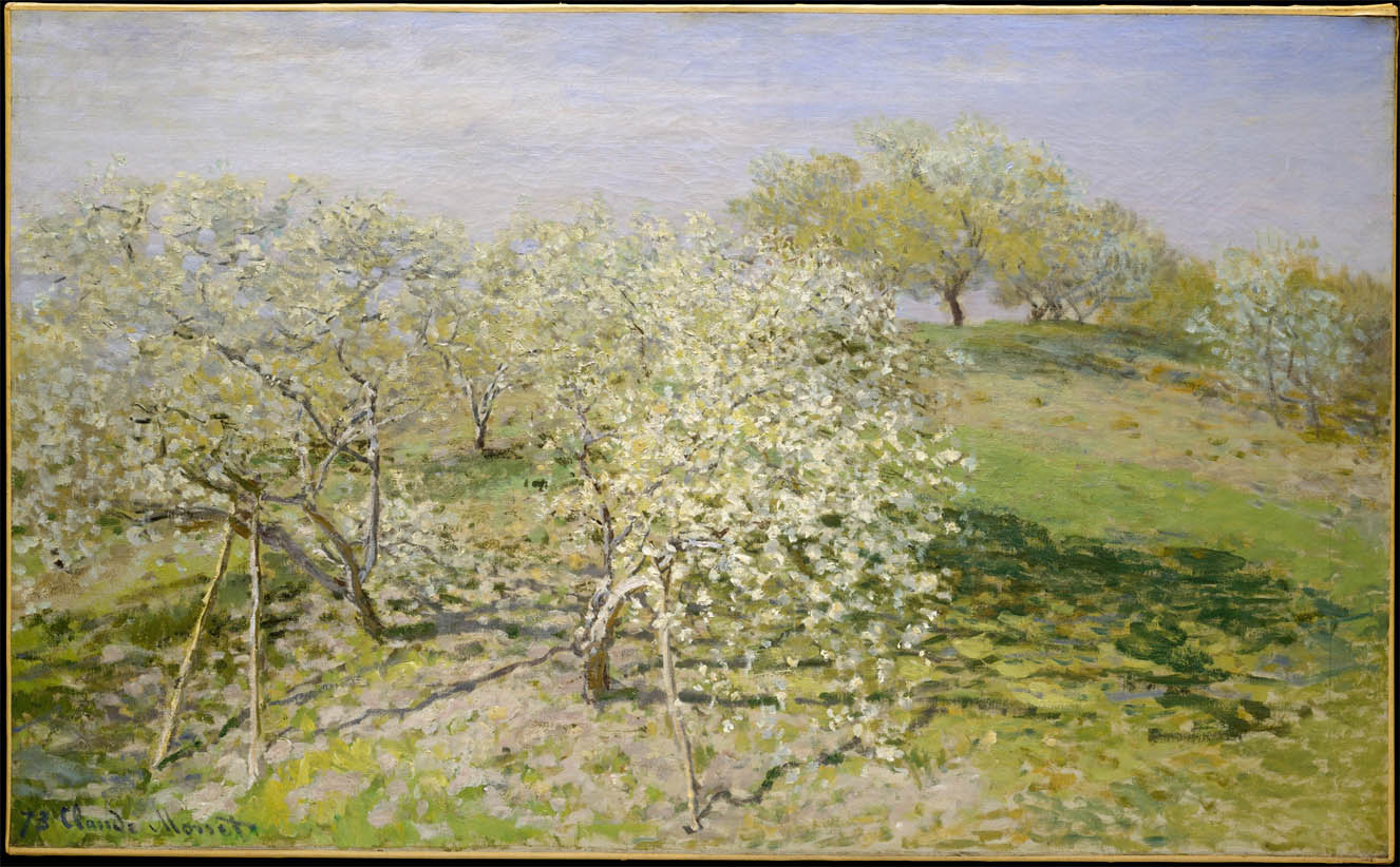 Claude monet the ark of grace for Arbre fruitier