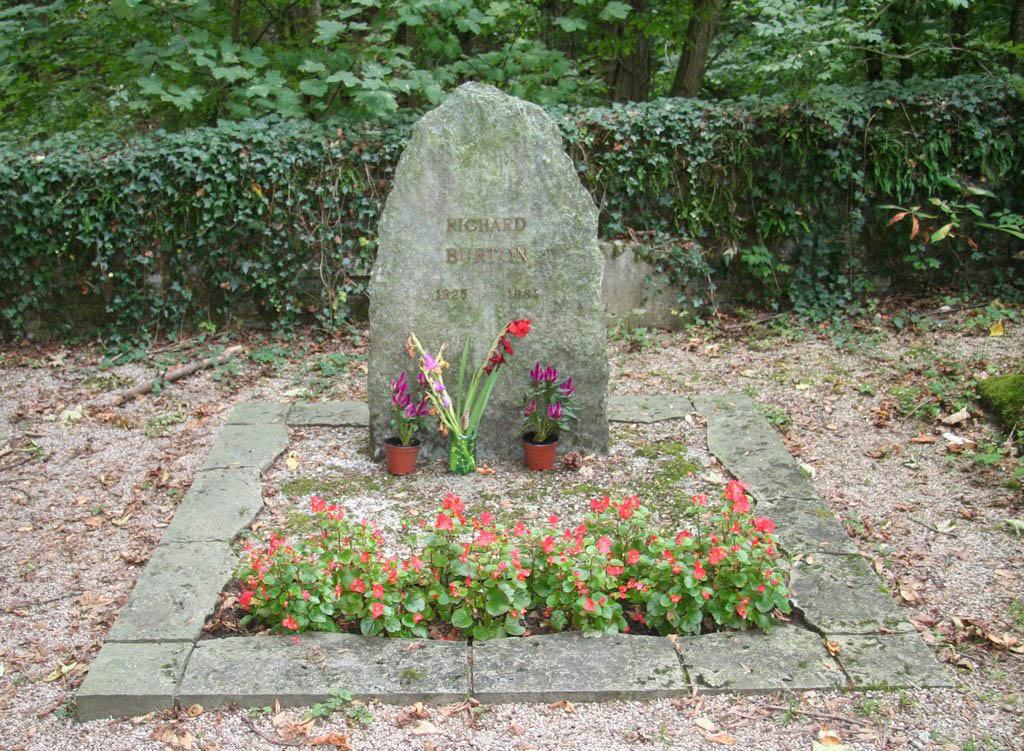 Richard Burton-grave