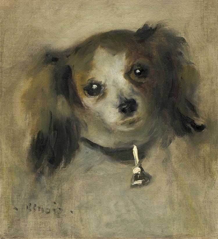 Tête de chien (1870)