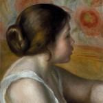 Tête d'une jeune fille (c 1890)