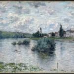 Vue de la Seine à Lavacourt (1880)
