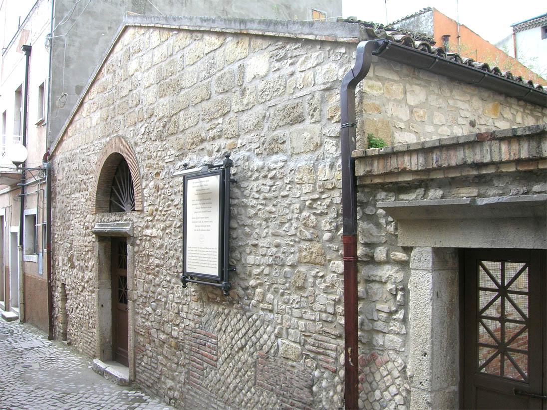 Casa di Orazio a Venosa