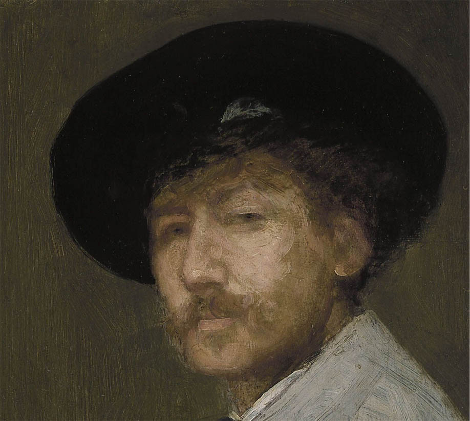 Arrangement in Gray, Portrait of the Painter (c1872-d-1)
