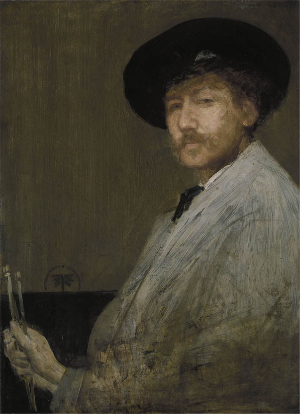 Arrangement in Gray, Portrait of the Painter (c1872)
