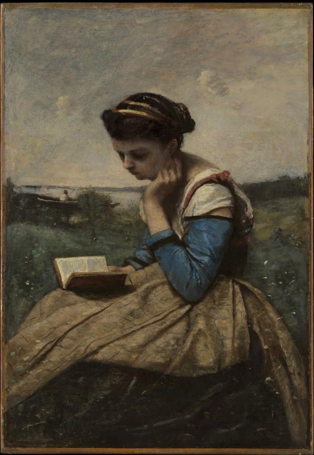 Femme lisant (1869-1870)