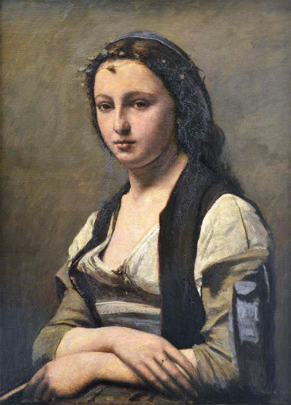 La Femme à la perle (1868-1870)