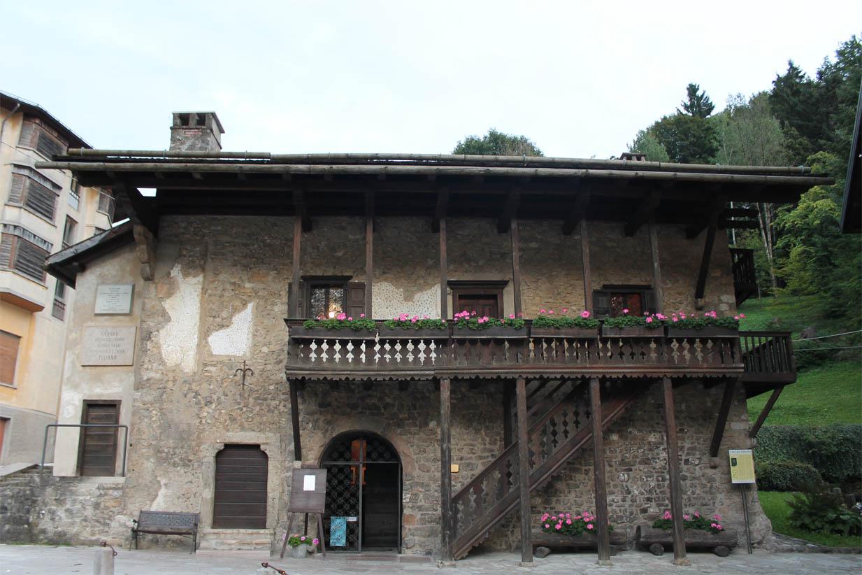 La cinquecentesca casa natale di Tiziano Vecellio, oggi museo
