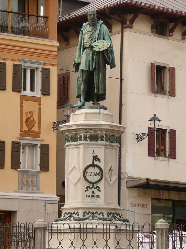 Monumento a Tiziano Vecellio
