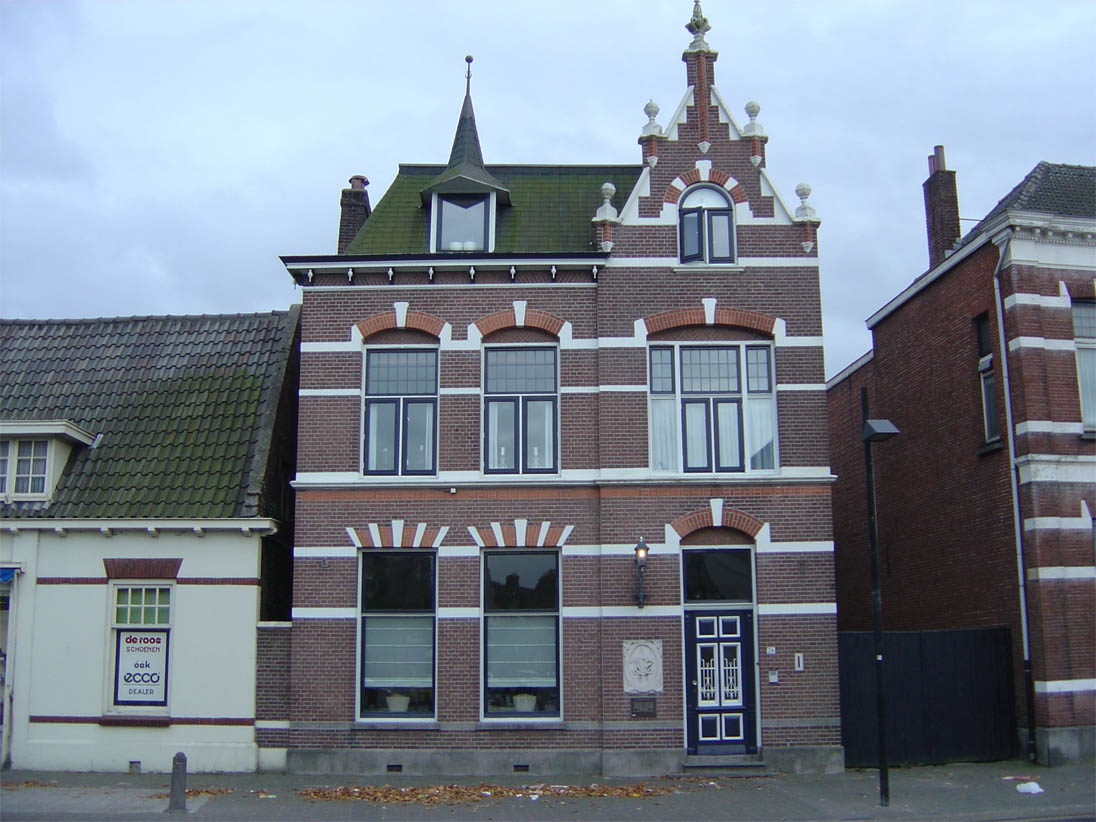 The house where Vincent van Gogh was born
