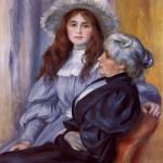 Berthe Morisot et sa fille, Julie Manet (1894)