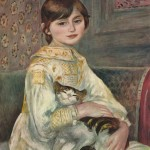 Julie Manet, L'enfant au chat (1887)