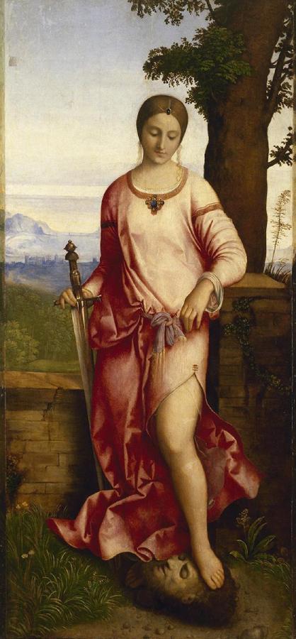 Giuditta con la testa di Oloferne (1504)