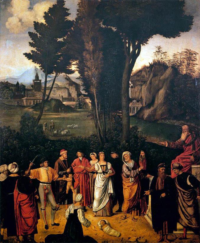 Giudizio di Salomone (1502-1505)