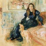 Julie Manet et sa levrette Laërte (1893)