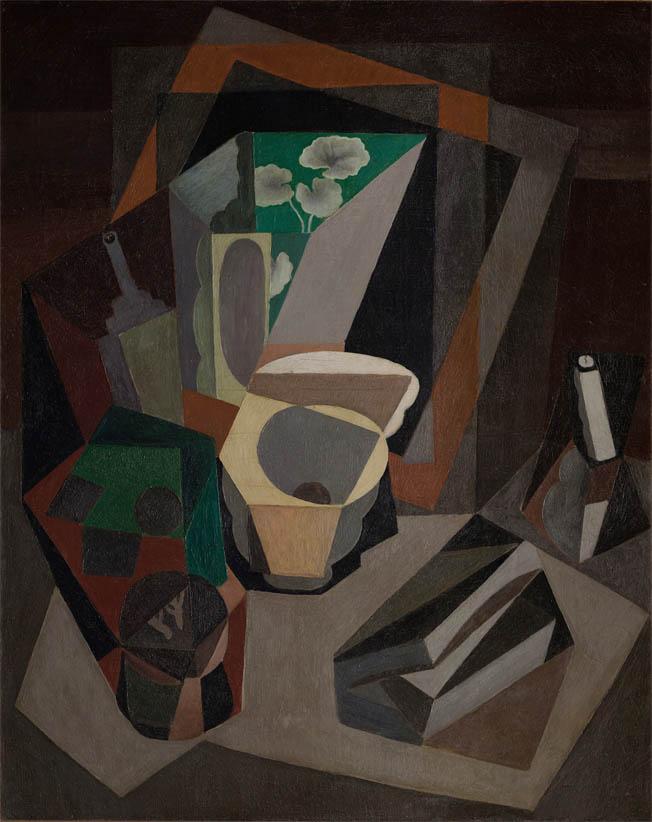 Naturaleza muerta con utensilios (1917)