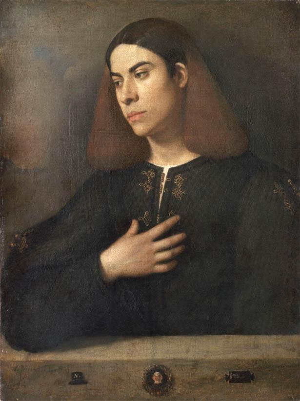 Ritratto di giovane, Antonio Broccardo (1508-1510)