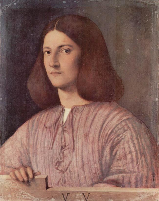 Ritratto di giovane, Ritratto Giustiniani (1503-1504)