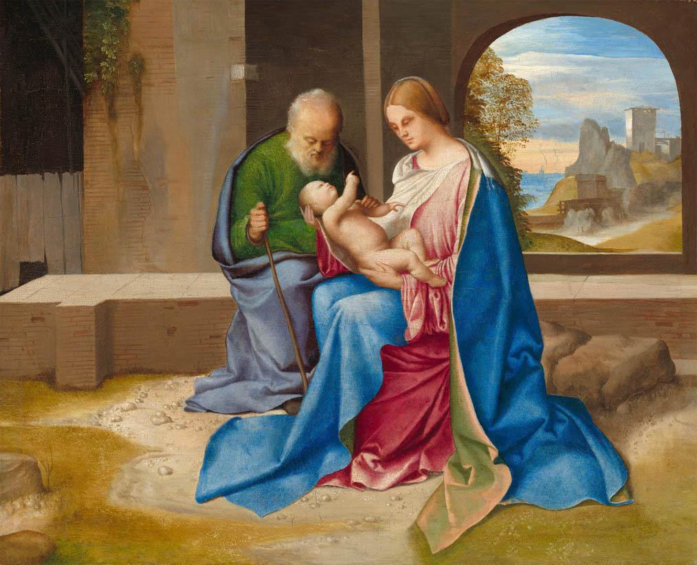 Sacra Famiglia Benson (c 1500)