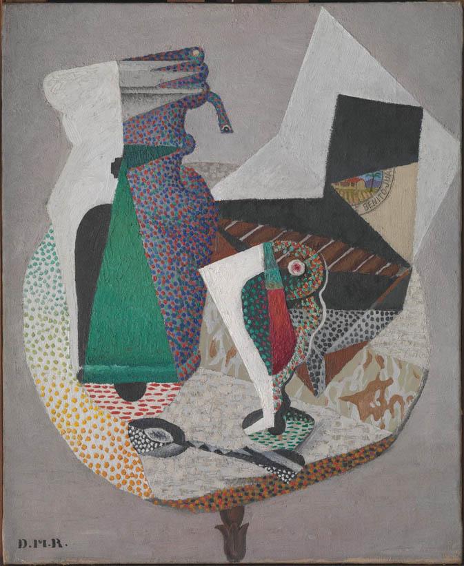Tabla en la terraza de un café (1915)