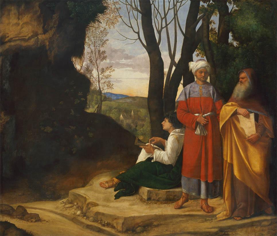 Tre filosofi (1508-1509)