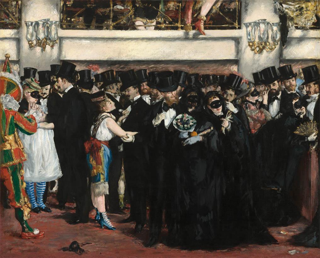 Bal masqué à l'Opéra (1873)