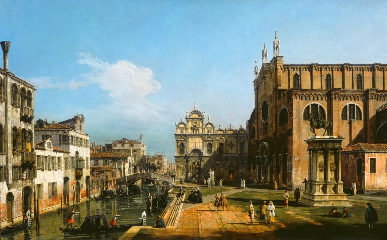 Campo di SS Giovanni e Paolo, Venezia (1743-1747)