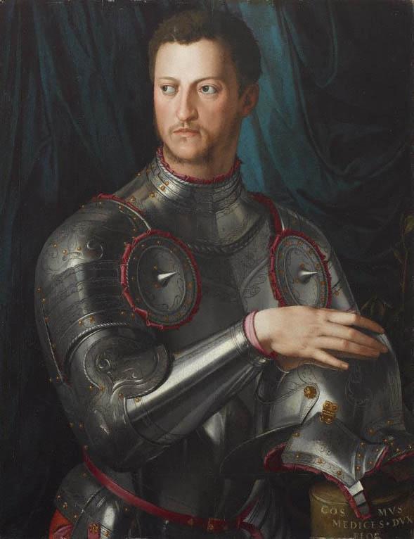 Cosimo I de' Medici in armatura (c 1545)