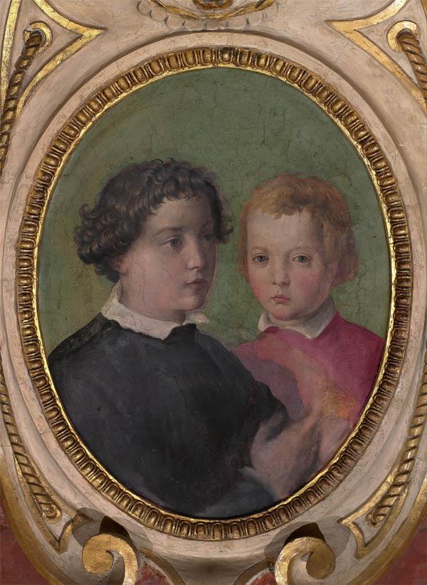 Don Giovanni e Don Garzia de' Medici (1556-1558)