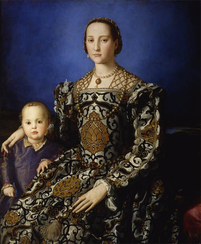 Eleonora di Toledo col figlio Giovanni (1545-1546)