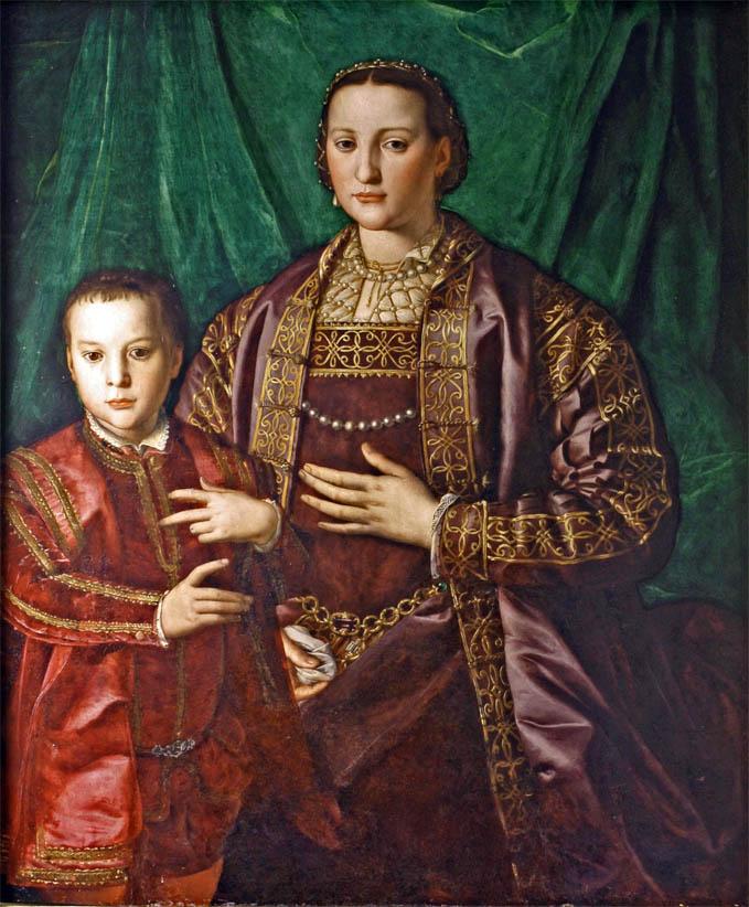 Eleonora di Toledo e il figlio Francesco (c 1549)