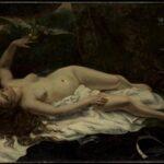 Femme au perroquet (1866)