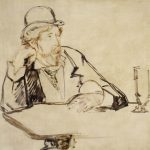 George Moore au café (1878 or 1879)